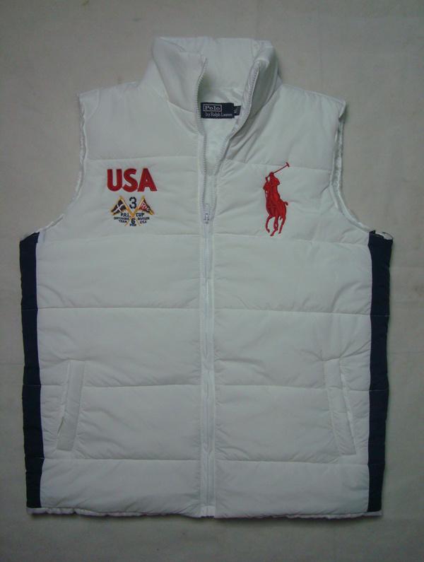 dd4860c986a new style polo ralph lauren veste sans manches 2013 hommes big polo classic  blanc