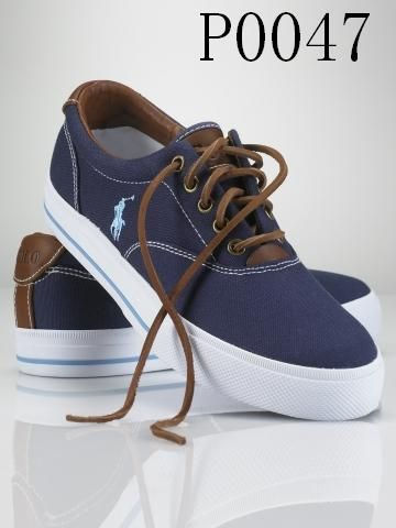 Chaussures Polo Ralph Lauren bleues homme WoUx3rlaX